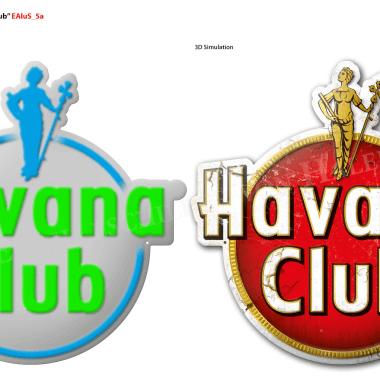 Havana Club Aluminiumschild, Vorschau