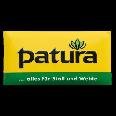 Patura Aluminiumschild  in 1mm Stärke, zur Kennzeichnung der Kunden in der Landwirtschaft