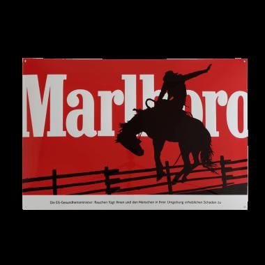 Emailleschild Marlboro