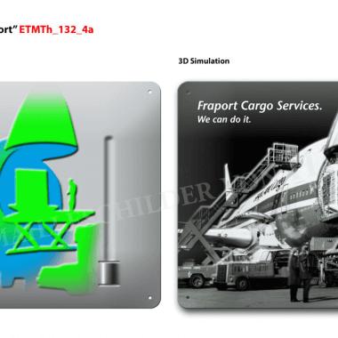 Fraport Cargo Thermometer, Visualisierung der Prägeebenen