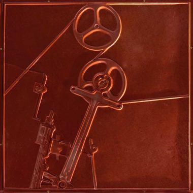 Wandpaneel aus Metall