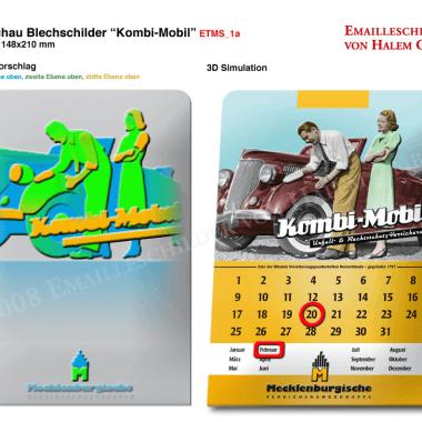Kalender Mecklenburgische Versicherung, Vorschau