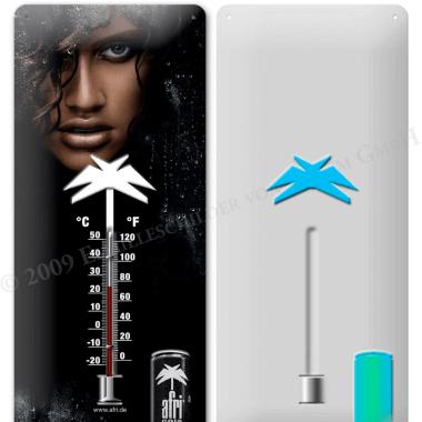 Werbemittel Thermometer Afri-Cola, Vorschau