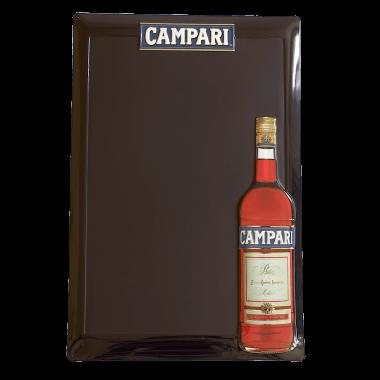 Anschreibtafel Campari aus Blech, 60 cm x 40 cm