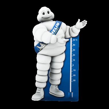 Michelin Thermometer Bibendum, geprägt und konturgestanzt, ca. 70 cm Höhe