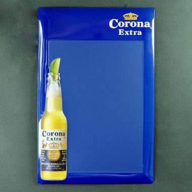 Corona Werbetafel Format 40 x 60 cm