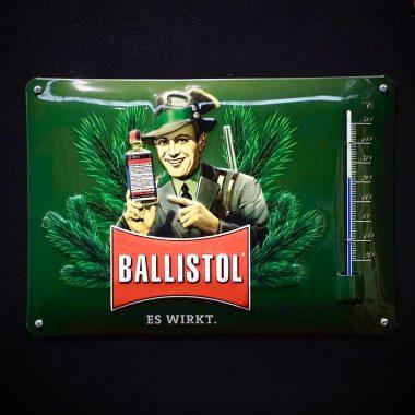 Werbethermometer-Ballistol Werbethermometer-Ballistol 290 mm x 170 mm
