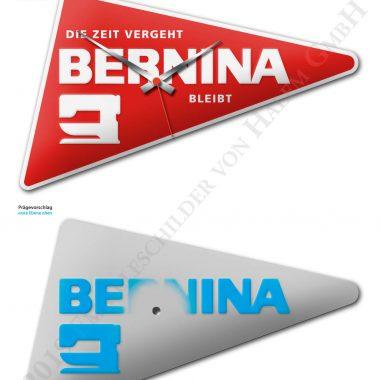 BERNINA Werbeuhr