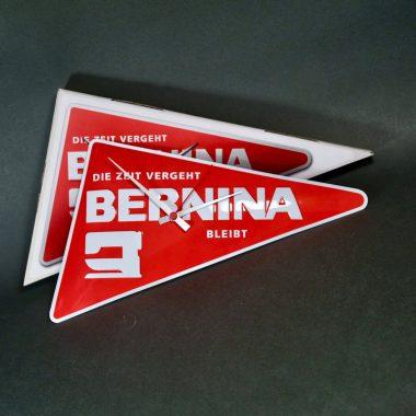 Logouhr Bernina mit individueller Packung